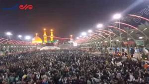 فیلم/ بین الحرمین در آستانه اربعین حسینی(ع)