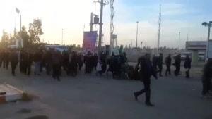 فیلم/تردد روان زائران از مهران ادامه دارد/تکمیل ظرفیت شایعه است