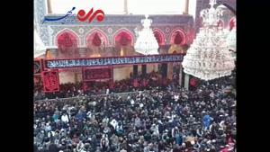 فیلم/ حرم امام حسین(ع) در آستانه اربعین