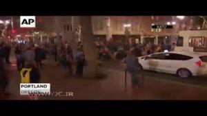 اغتشاشات مردم آمریکا در خیابانها