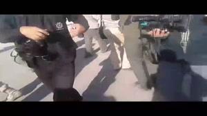 فیلم/بازدید فرمانده مرزبانی عراق از مرز مهران