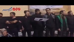 فیلم/ اجرای سرود «حسین لبیک» در مسجد کوفه