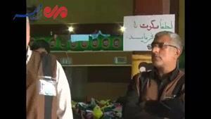 فیلم/ ارائه خدمات موکب گلستان به زائرین اربعین حسینی