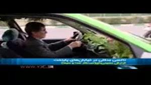تاکسی جنگلی در خیابان های پایتخت