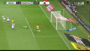 فیلم/ خلاصه دیدار تیم های ملی فوتبال برزیل - آرژانتین
