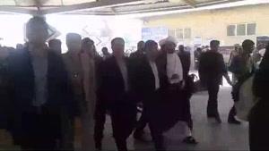 فیلم/اوج شلوغی و ازدحام در مرز مهران