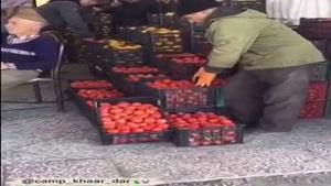 چالش مانکن در میوه فروشی در ایران ..خیلی باحالن حتمن ببینید
