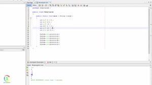 قسمت شانزدهم آموزش برنامه نویسی جاوا-برنامه تکمیلی(۴)