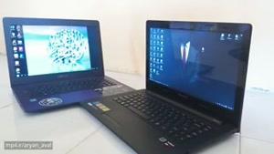 مقایسه لپ تاپ ایسوس و لنوو