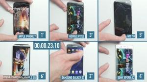 بررسی سرعت گوشی های هوشمند
