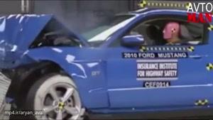 تست تصادف خودرو های برتر ۲۰۱۶