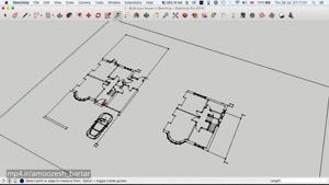 آموزش اسکچ آپ برای معماری