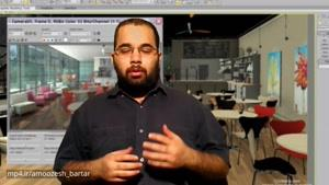 ۳Ds Max - آموزش برای رشته های معماری و عمران بخش ۳