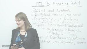 IELTS Speaking Task ۱ - How to get a high score