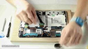 تعمیر صفحه نمایش تبلت Samsung Galaxy