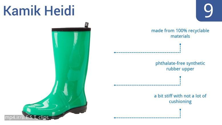 بهترین مدل های کفش های زنانه برای باران