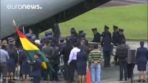 ویدئوی تکنسین شوک زده که از حادثه سقوط هواپیمای حامل فوتبالیست های برزیلی جان بدر برد