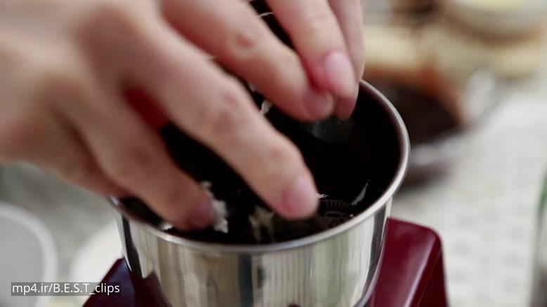 طرز تهیه دسر شکلات