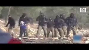 گروگان گرفتن کودک ۷ ساله فلسطینی توسط صهیونیستها