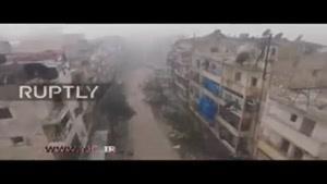 ویرانیهای حلب پس از آزادی