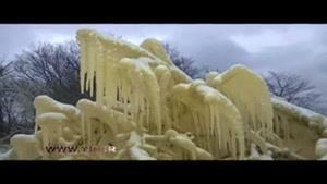 قلعه یخی بینظیر در شمال استونی