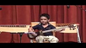 حافظ، کودک ۴ ساله ی کاشانی و تار- عاشقانه