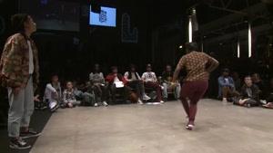 مسابقات رقص هیپ هاپ یک چهارم نهایی ۵