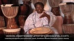 آموزش ساز افریقایی جیمبی-بخش ۸