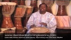 آموزش ساز افریقایی جیمبی-بخش ۷