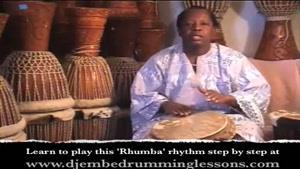 آموزش ساز افریقایی جیمبی-بخش ۳