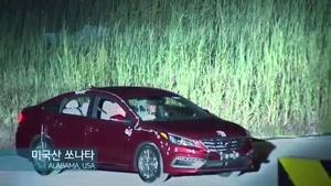 برخورد دو خودروی سوناتای مدل ۲۰۱۵ توسط هیوندای