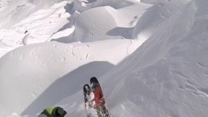 هیجان اسکی در آلاسکا