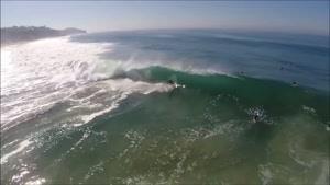 تصاویری دیدنی از موج سواری