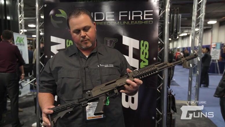 معرفی اسلحه Slide Fire SSAK ۴۷ Hybrid