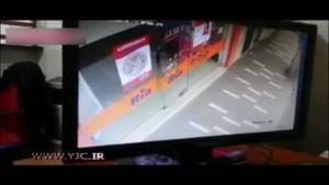 اقدام شجاعانه فروشنده در برابر سارقان خطرناک