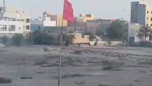 فیلم/بازداشت نوجوان ۱۳ ساله بحرینی به دست نظامیان آل خلیفه