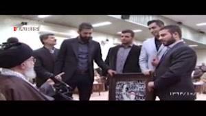 دیدار سعید معروف و قاسم رضایی با رهبر معظم انقلاب