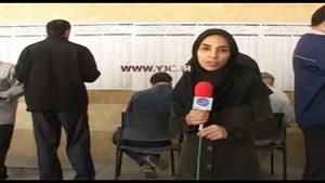 مهدی هاشمی همراه با زندانیان اوین پای صندوق رای حاضر شد