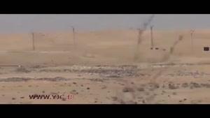 لحظه هولناک انفجار خودروی انتحاری داعش
