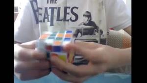 حل مکعب روبیک ۴x۴ در زمان ۱.۲۰.۵۰