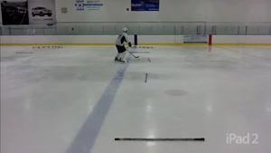 مهارت های دریبل زنی در هاکی روی یخ
