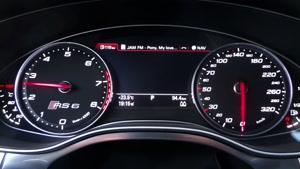 ۰-۱۰۰ و ۰- Audi RS۶ ۲۰۰