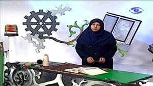آموزش بافت فرش ایرانی قسمت ۹