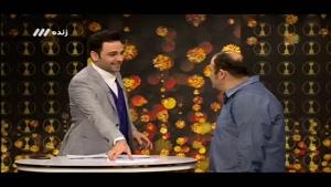 برنامه سه ستاره : مصاحبه با مهران غفوریان و گفتگوی تلفنی با محسن تنابنده