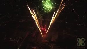 آتش بازی شب سال نو ۲۰۱۶ در آنتیگوا، گواتمالا