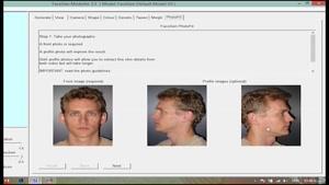 طراحی چهره سه بعدی از عکس