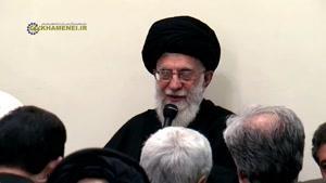 فیلم/ دعا رهبر انقلاب در پایان شبهای عزاداری ایام فاطمیه