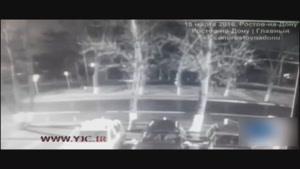 لحظه ی سقوط هواپیمای مسافربری فلای دبی در جنوب روسیه