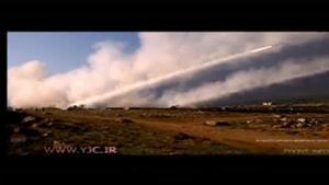 رگبار عظیم گلوله ها در نبرد با داعش