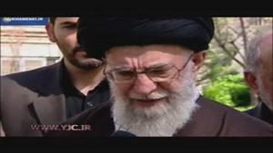 بیانات رهبر انقلاب پس از کاشت نهال در هفته منابع طبیعی
